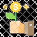 Gift Money Hand Icon
