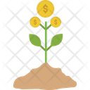 Money Plant Business Growth Business Plant Icon