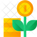 Money Plant Money Growth Investment Icon