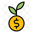 Money Plant Investment Growth Icon