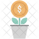 Money Plant Plant Business Growth Icon