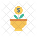 Plant Growth Increment Icon