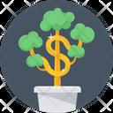 Money Plant Finance Icon