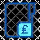 Money Poundsterling Folder Icon