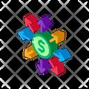 Money Prevalence Everywhere Icon