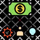 Process Business Money Icon