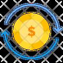 Money Processing Money Exchange Money Transfer Icon