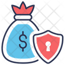 Money Bag Confidentiality Icon