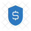 Dollar Shield Protection Icon
