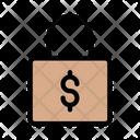Lock Dollar Protection Icon