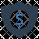 Shield Money Bank Icon