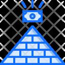Pyramid Money Financial Icon