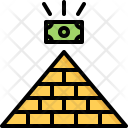 Money Pyramid Icon