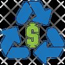 Money recycle Icon