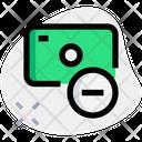 Money Remove Icon