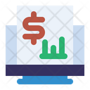 Money Report Analytics Banking Icon
