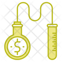 Money Research Experiment Icon