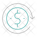Money rotation Icon
