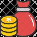 Money Sack Bag Icon