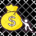 Money Sack Dollar Sack Currency Sack Icon