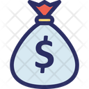 Money Sack Coins Sack Currency Sack Icon