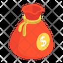 Coin Pouch Money Sack Finance Sack Icon