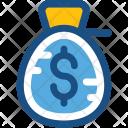 Money Sack Coins Icon