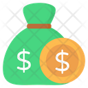 Money Sack Money Bag Dollar Sack Icon