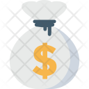 Money Sack Currency Icon