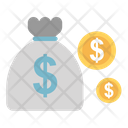 Coins Sack Dollar Money Sack Icon