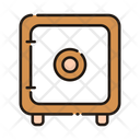 Money Saving Safe Vault Icon