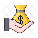 Pay Dollar Money Icon
