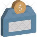 Saving Coin Dollar Icon