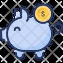 Money Piggy Save Money Icon