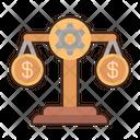Money Scale Financial Balance Balance Scale Icon