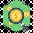 Money Search Icon