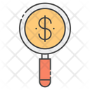 Find Money Money Search Finance Monitoring Icon