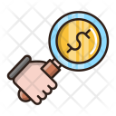 Money Search Business Icon