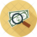 Money Search Explore Icon
