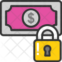 Money Lock Wealth Icon