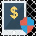 Money Shield Security Icon