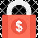 Money Security Lock Icon