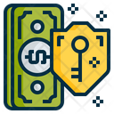 Safety Money Shield Icon