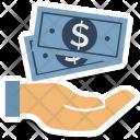 Protection Money Paper Icon