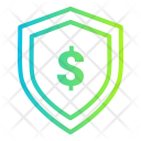 Coins Dollar Shield Icon