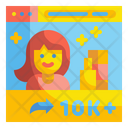 Money Send Share Send Icon