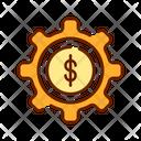 Money Service Financial Maintenance Financial Setting Icon