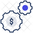 Money Setting Finance Setting Currency Setting Icon