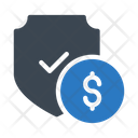 Protection Secure Dollar Icon