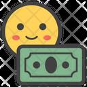 Money Smiley Icon